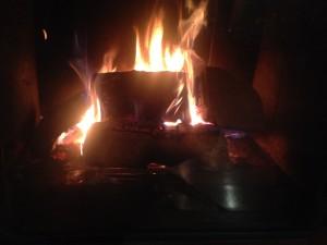 oheň odpuštění